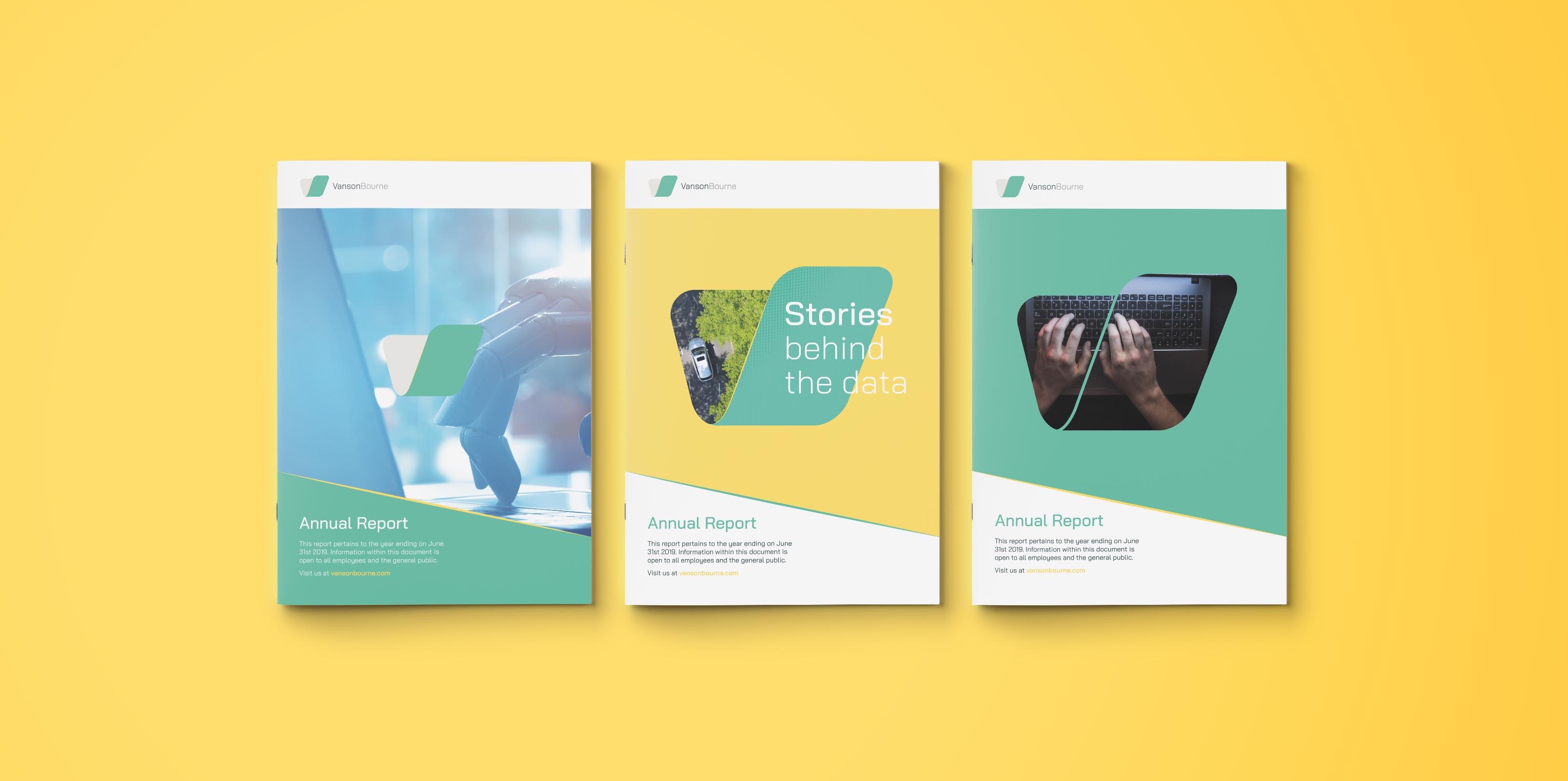 Vanson Bourne Brochure Design