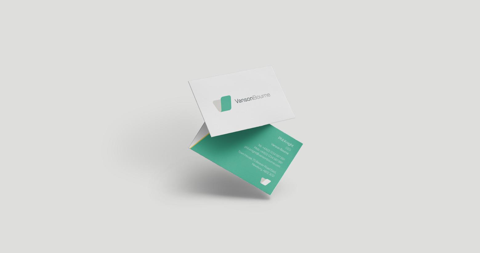 Vanson Bourne Business Cards