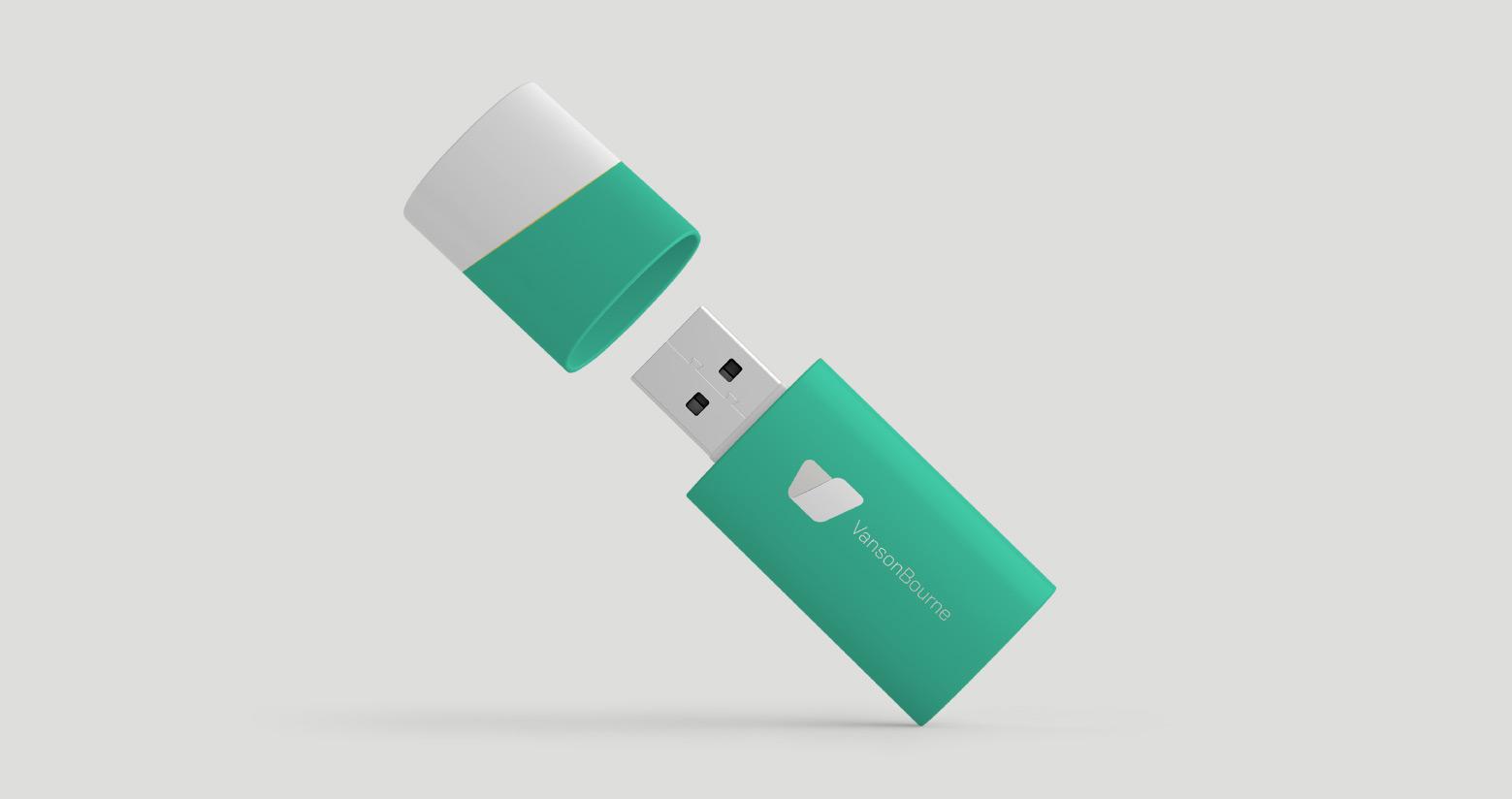Vanson Bourne USB Stick Design