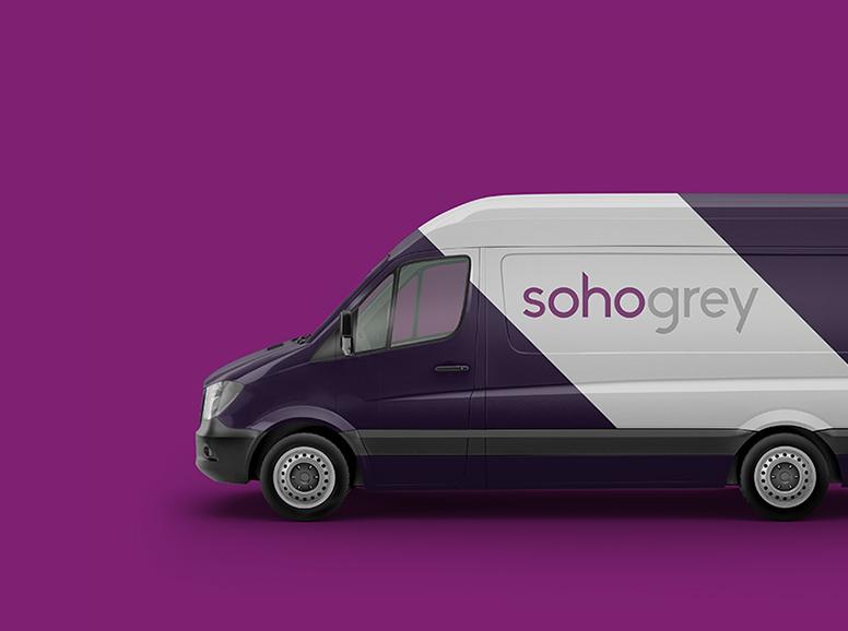 Soho Grey Vehicle Livery Design