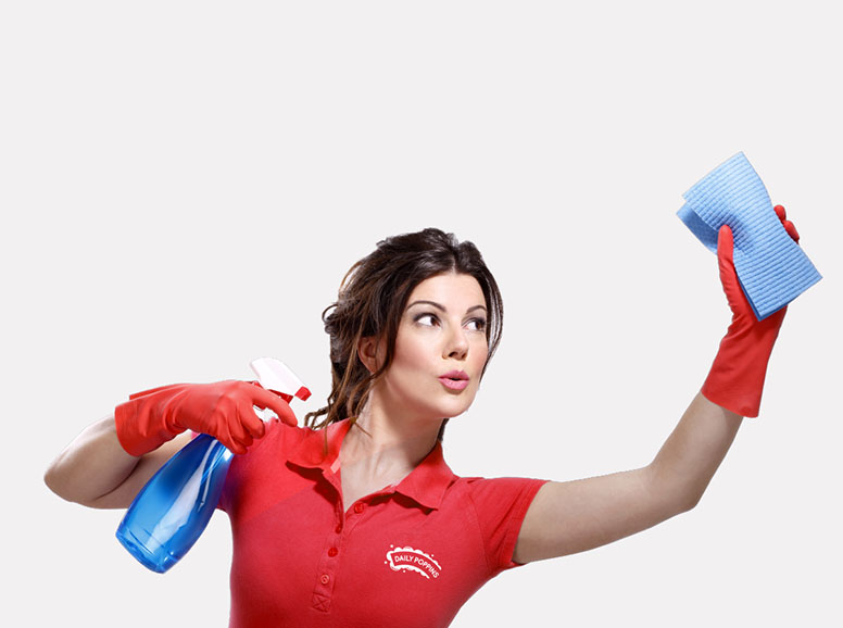 Daily Poppins Lady Cleaning