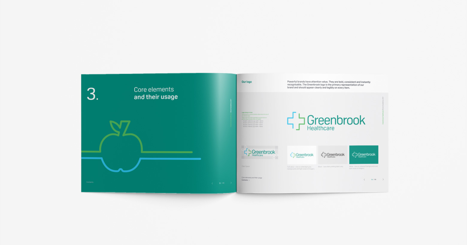 GreenBrook Healthcare Brand Guidelines