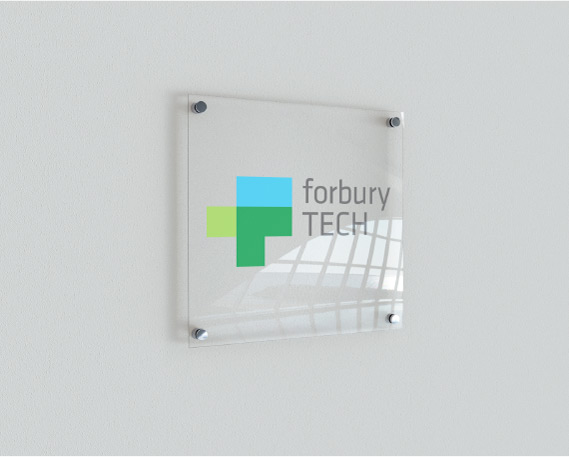 Forbury TECH sign