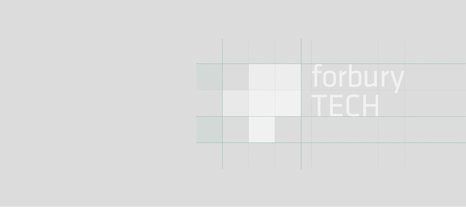 Forbury TECH logo grid