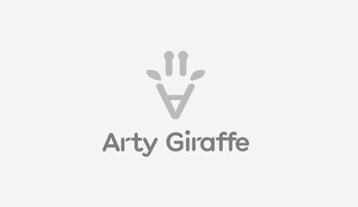Arty Giraffe logo