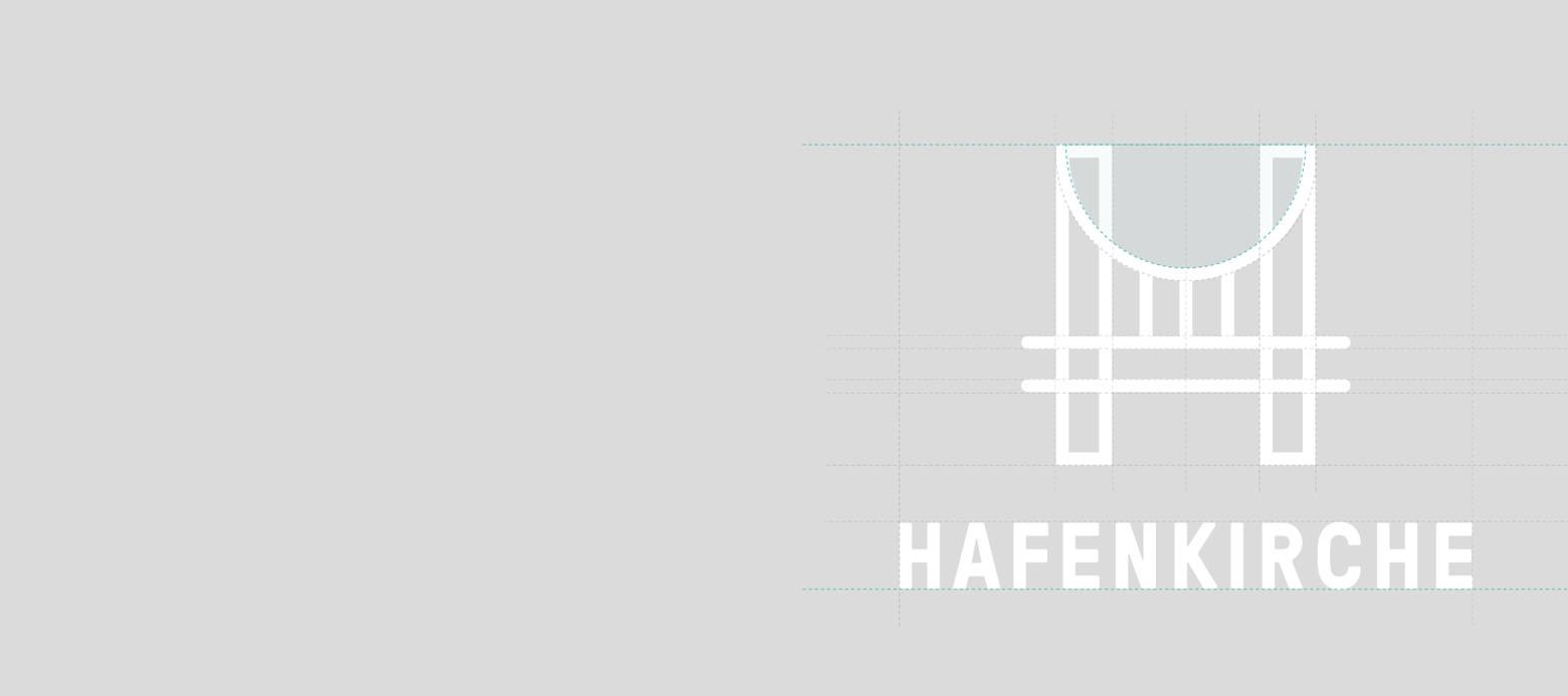 Hafen Kirche Logo Grid