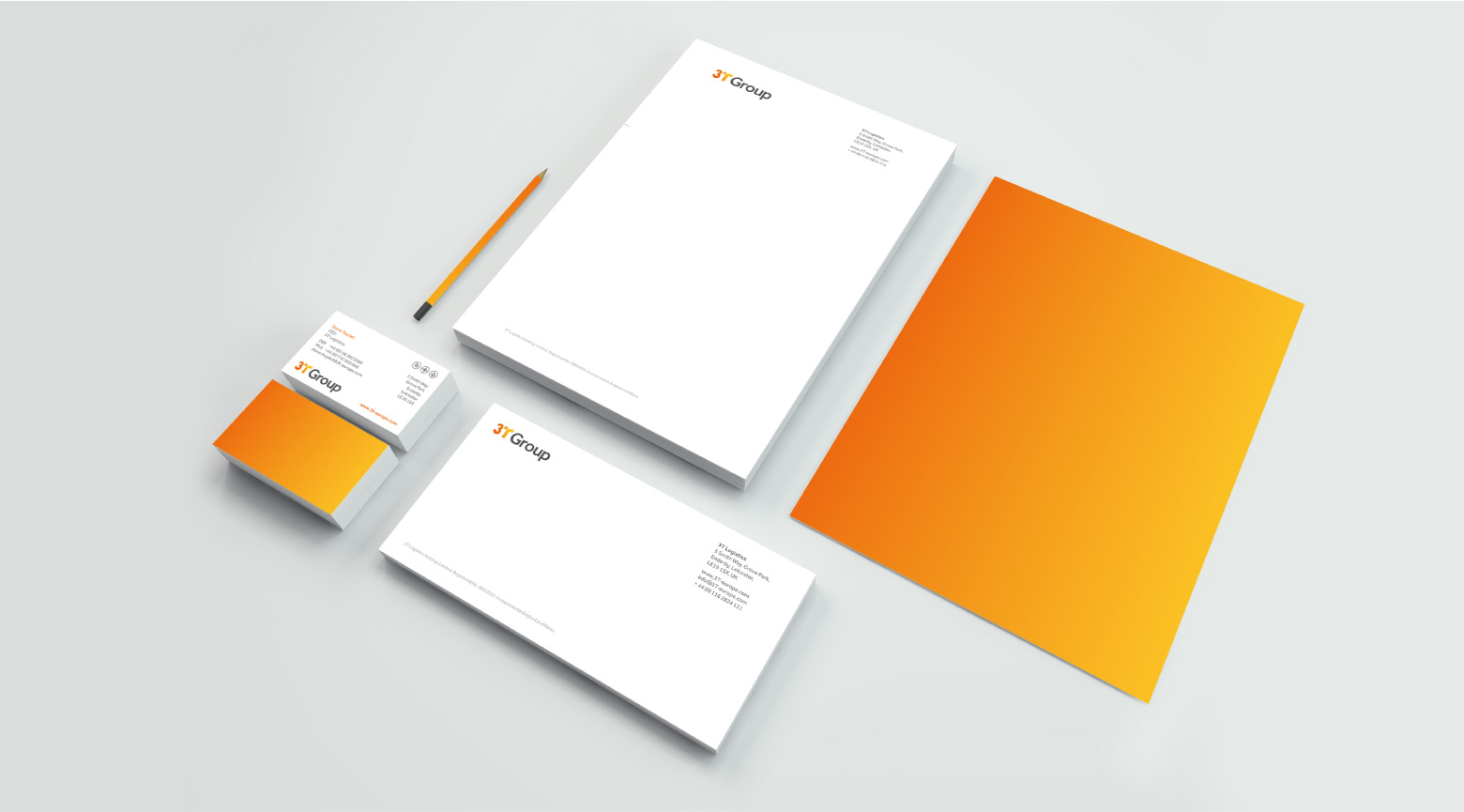 3T Group Stationery design
