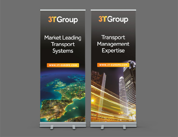 3T Roll-Out Banner