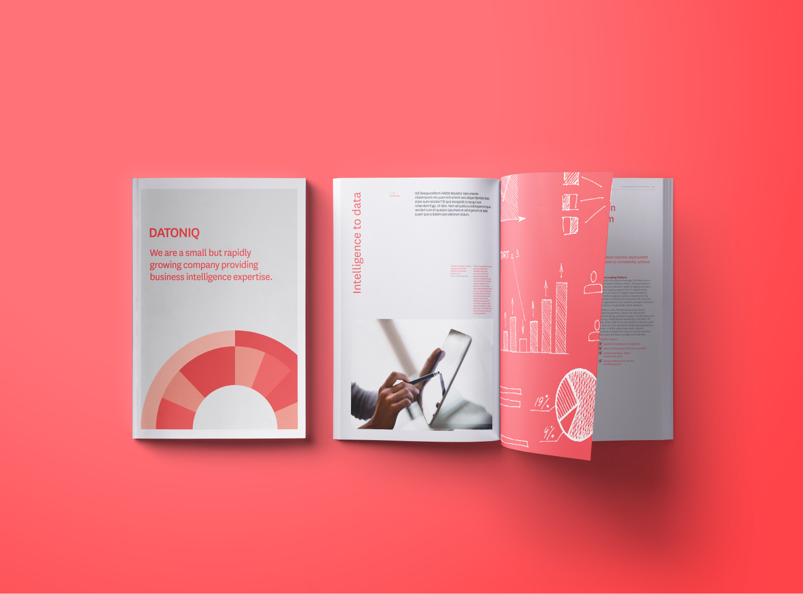 Datoniq Brochure design