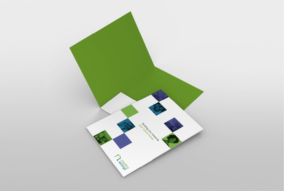 Reading Lettings Folder design