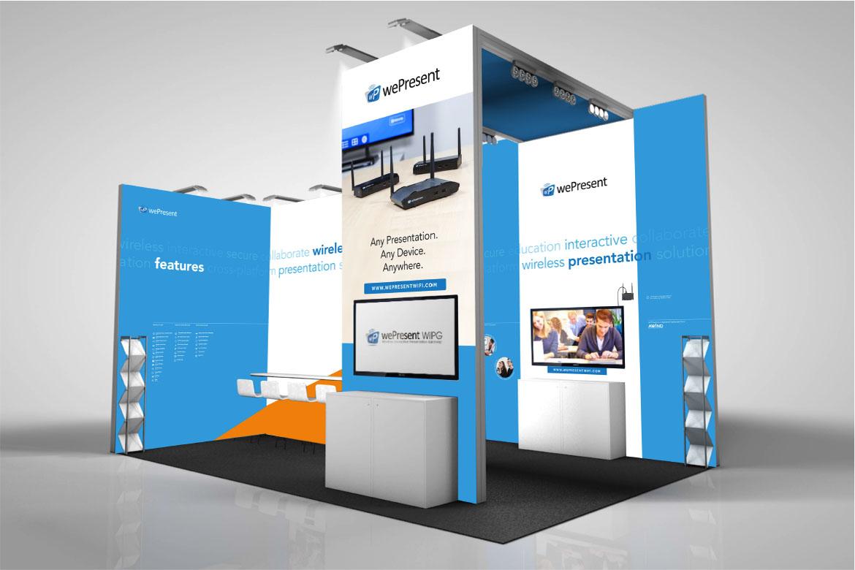 wePresent Exhibition design