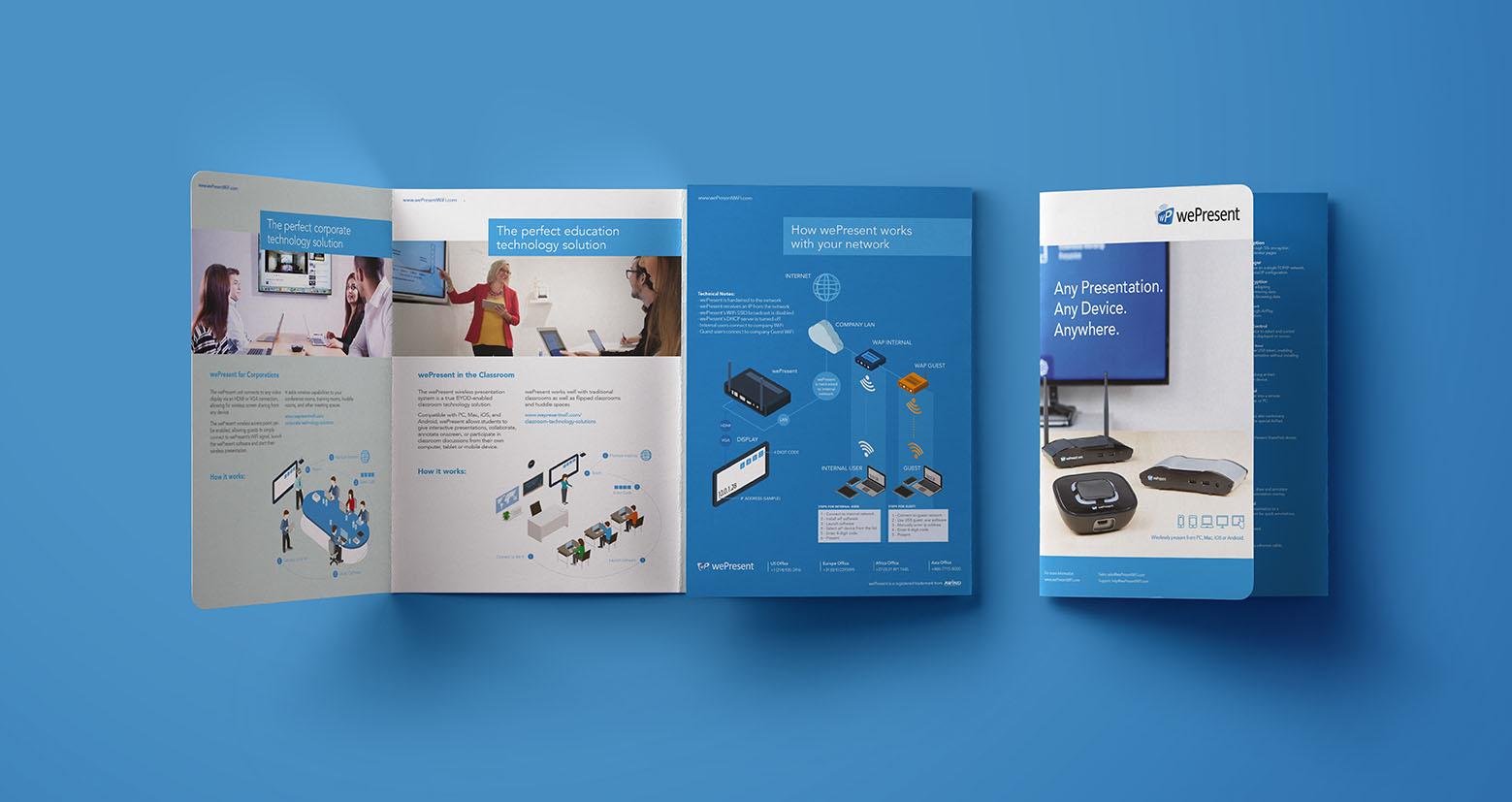 wePresent Brochure