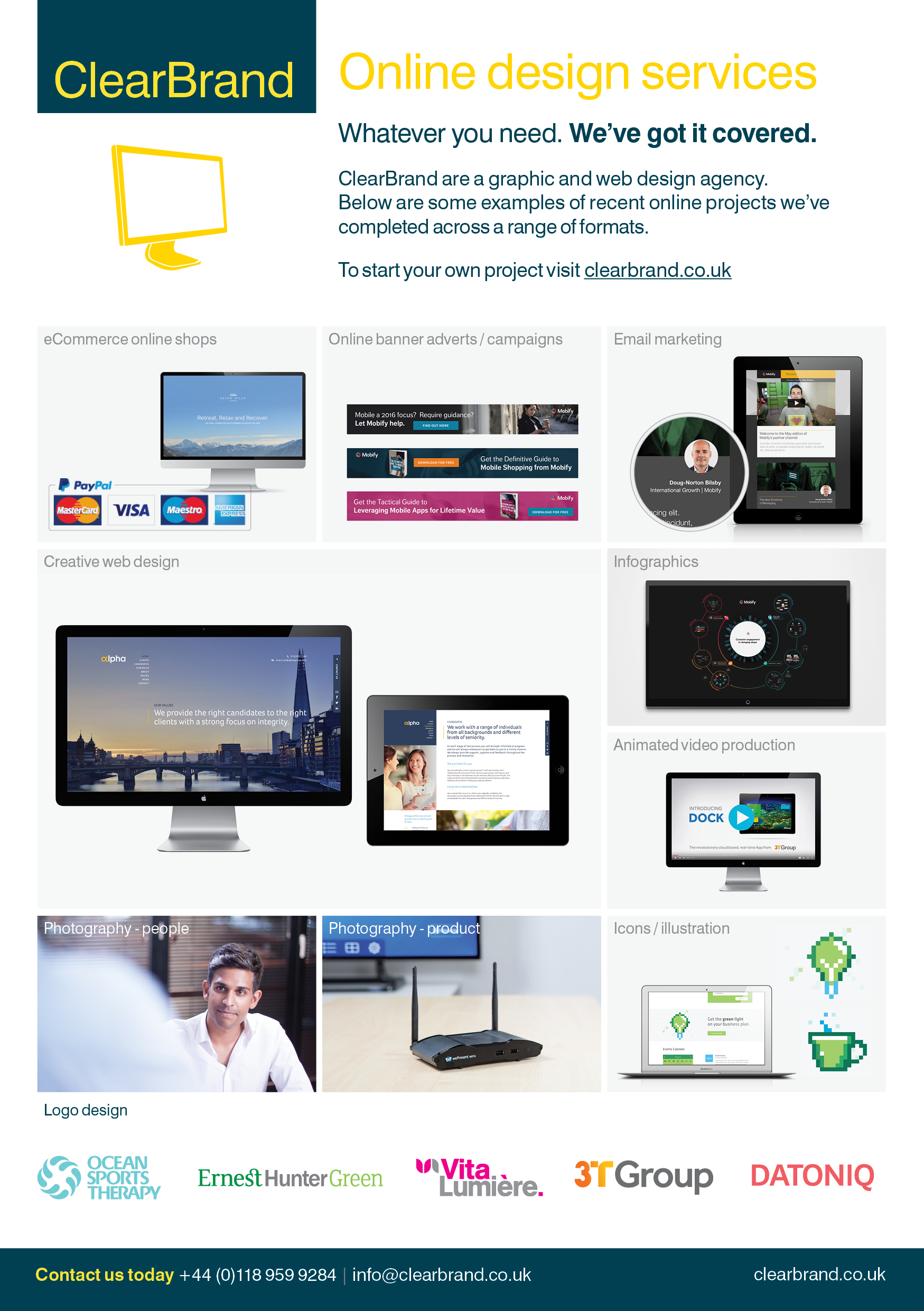 ClearBrand Online Design Service