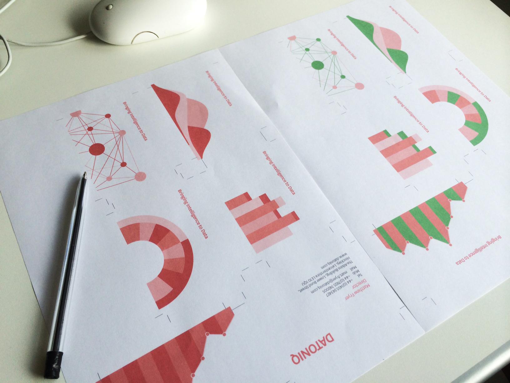 Datoniq Business Card designs