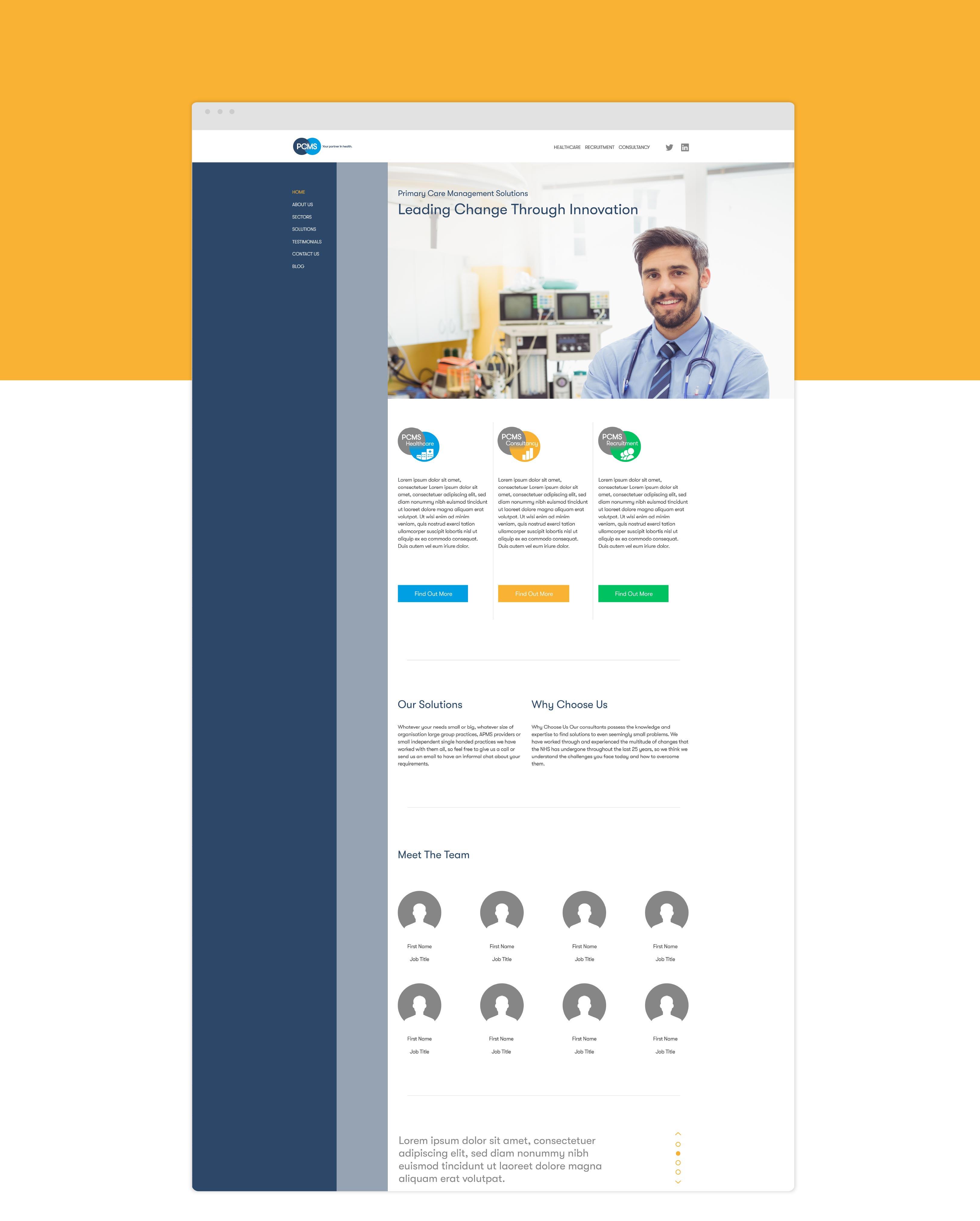 PCMS Webpage