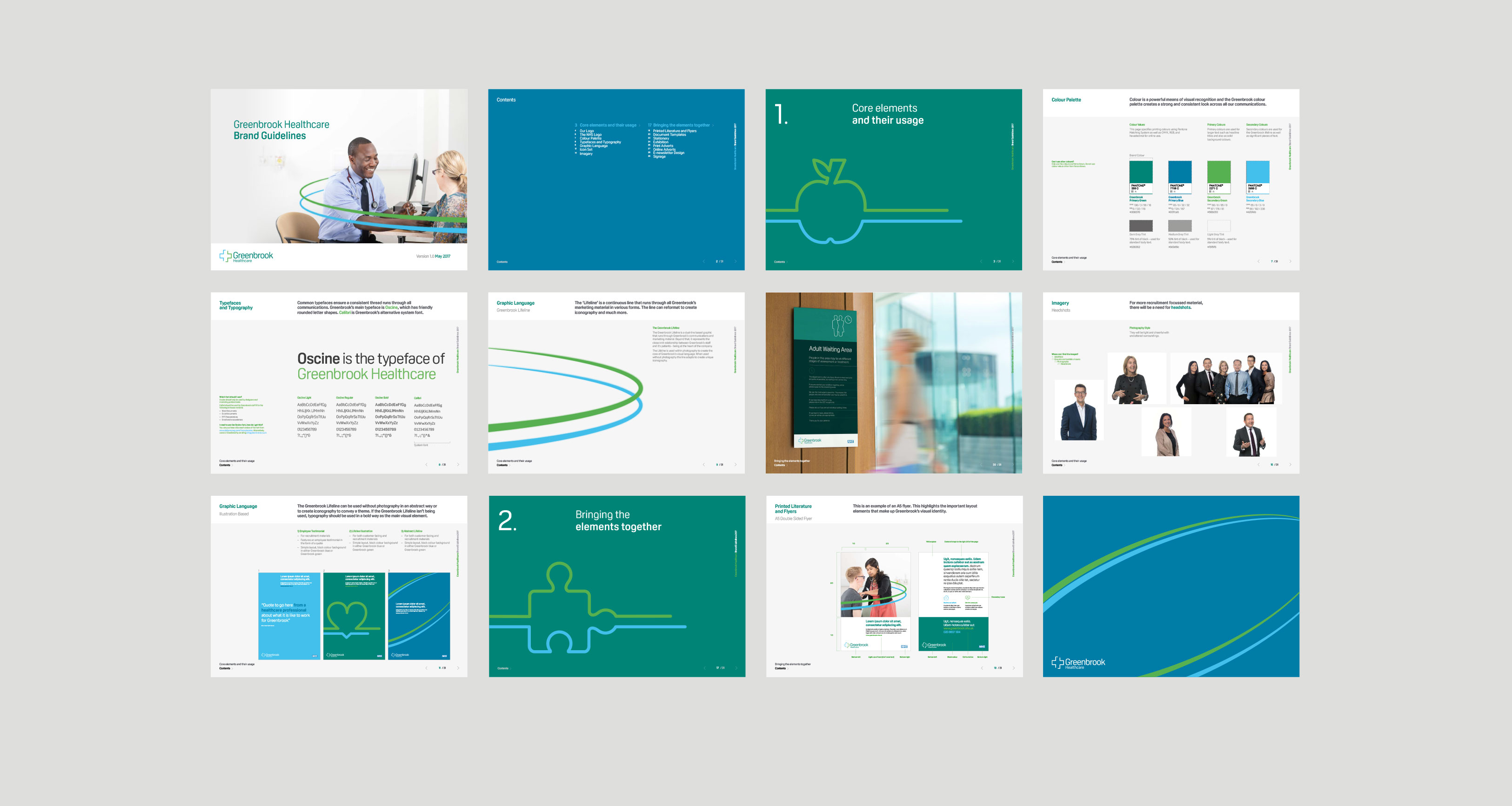 GreenBrook Healthcare Marketing Branding Guidelines