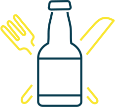 food, drink packaging Icon