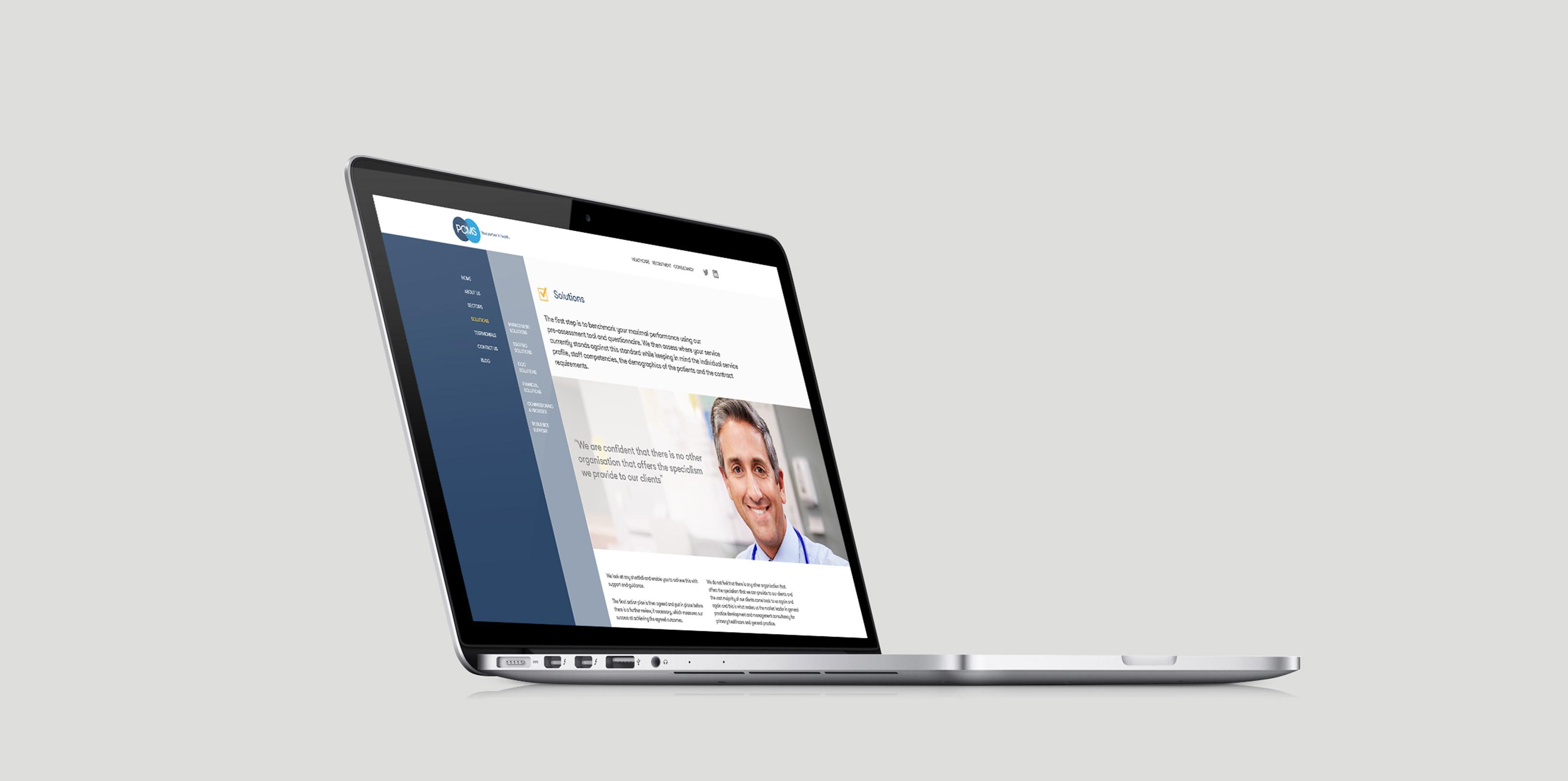 PCMS Website design Mac