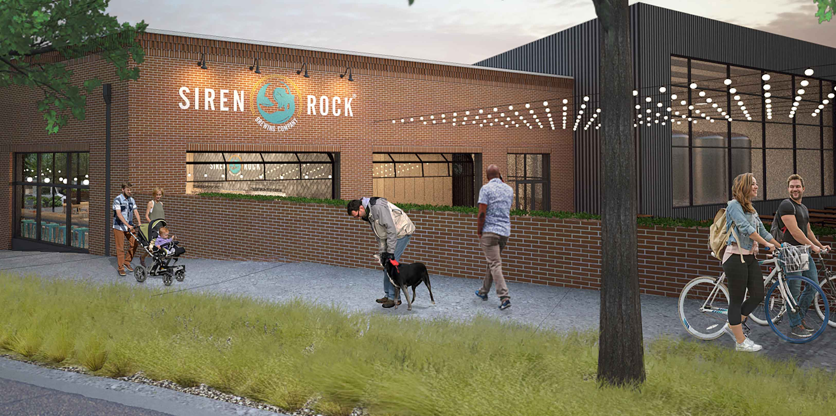 Siren Rock Building