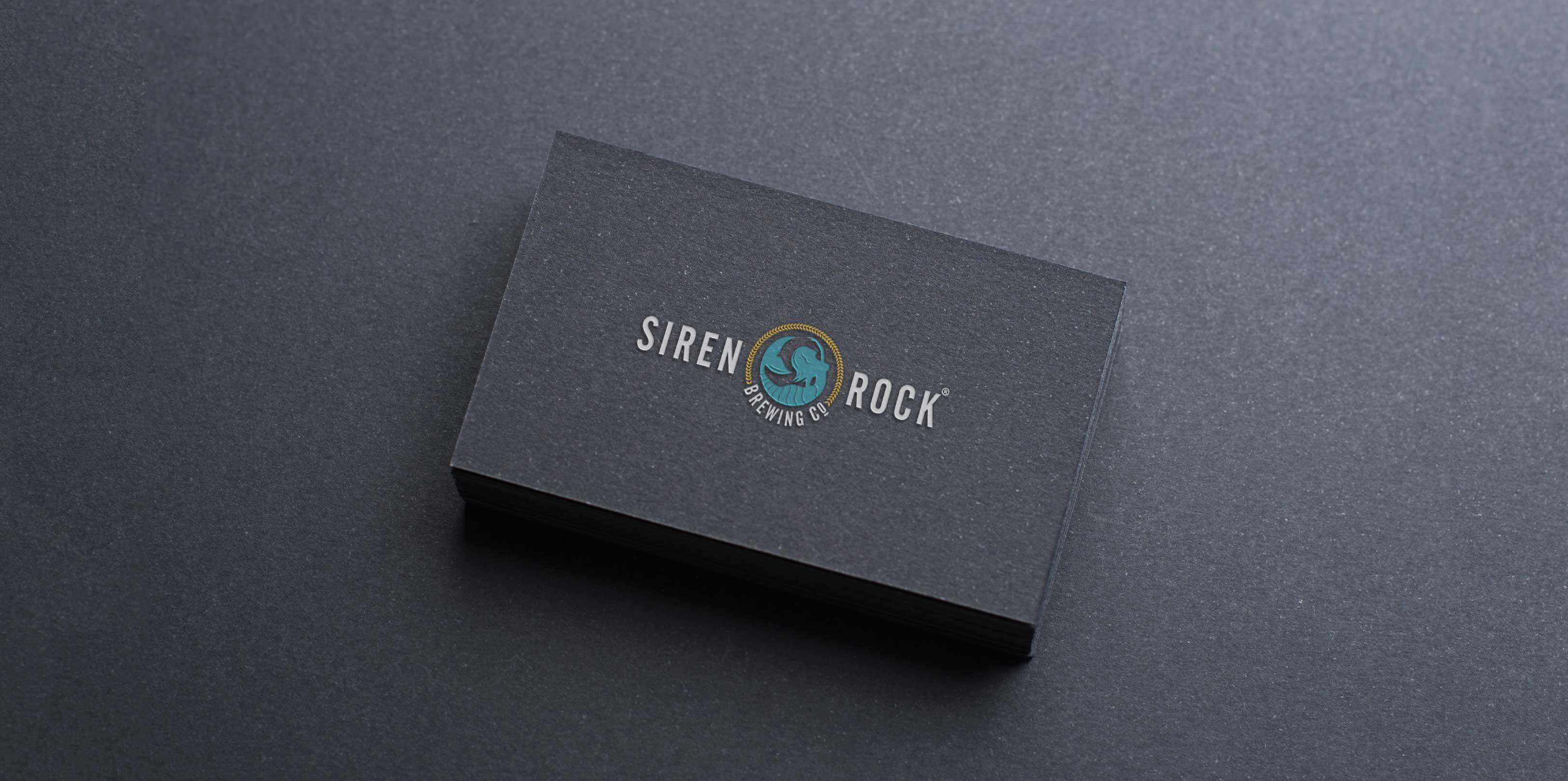 siren Rock Business Cards