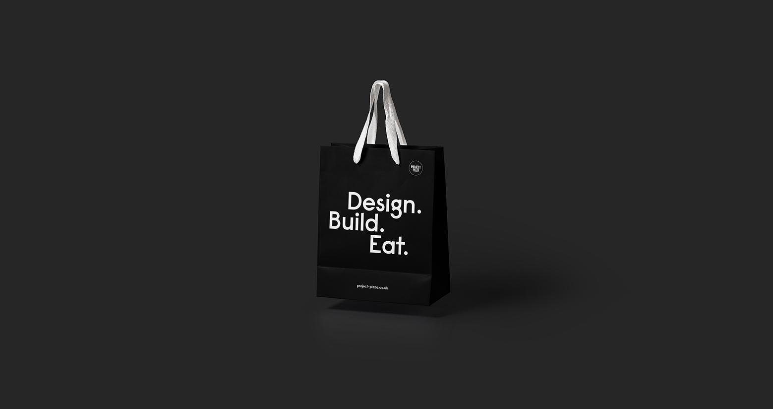 Project Pizza bag design
