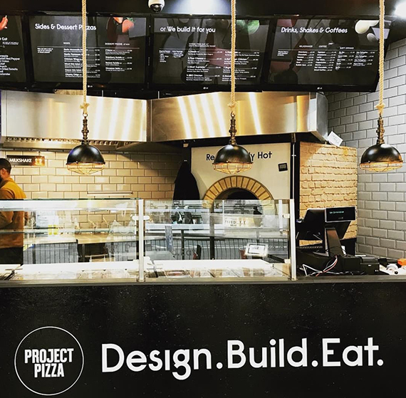 Project Pizza restaurant design