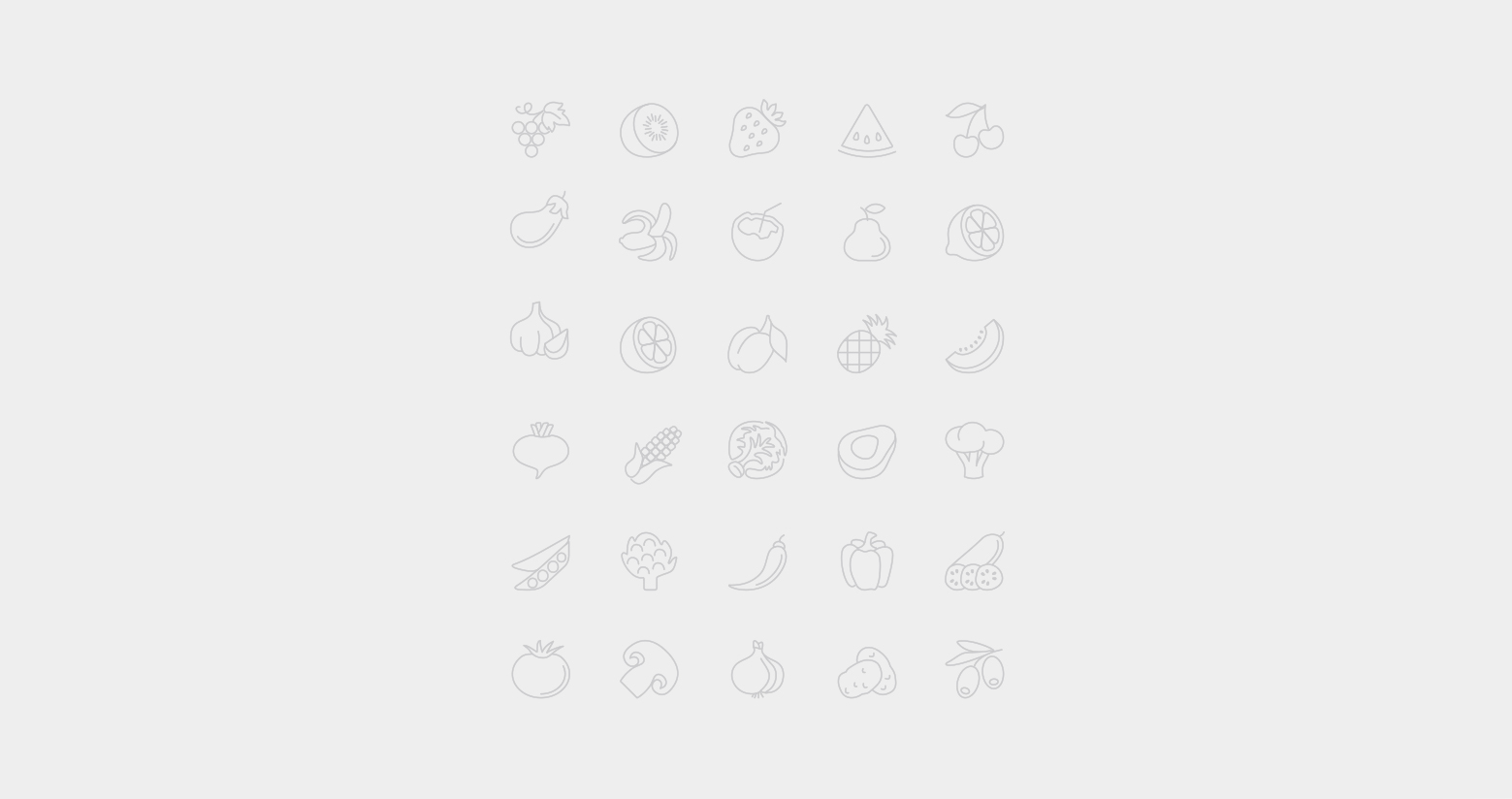 Project Pizza icons