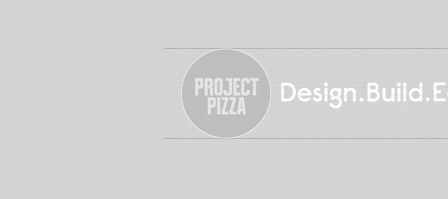 Project Pizza logo grid