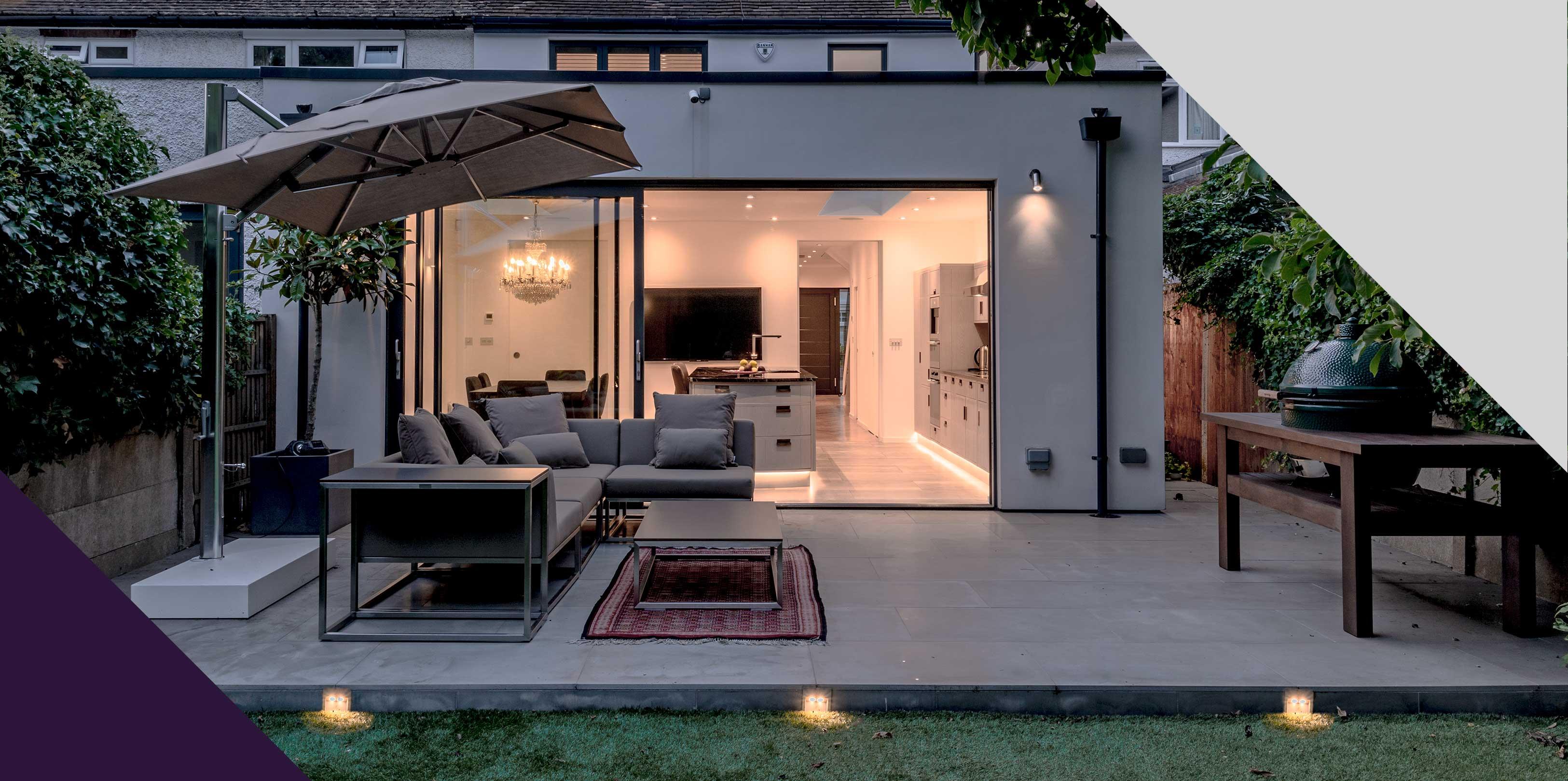 Soho Grey Property Patio