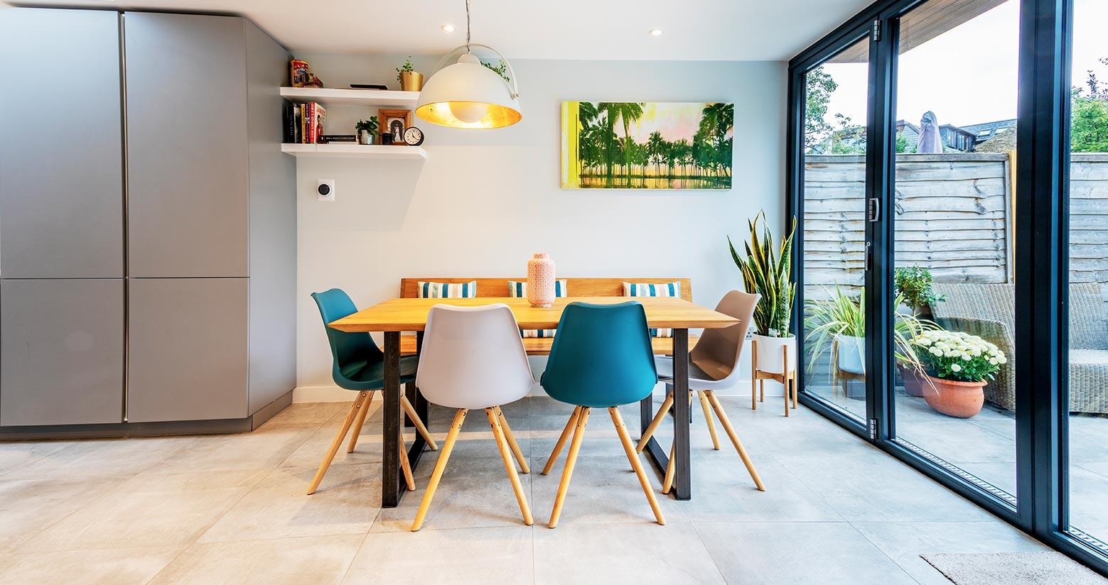 Soho Grey Property Dinning Room