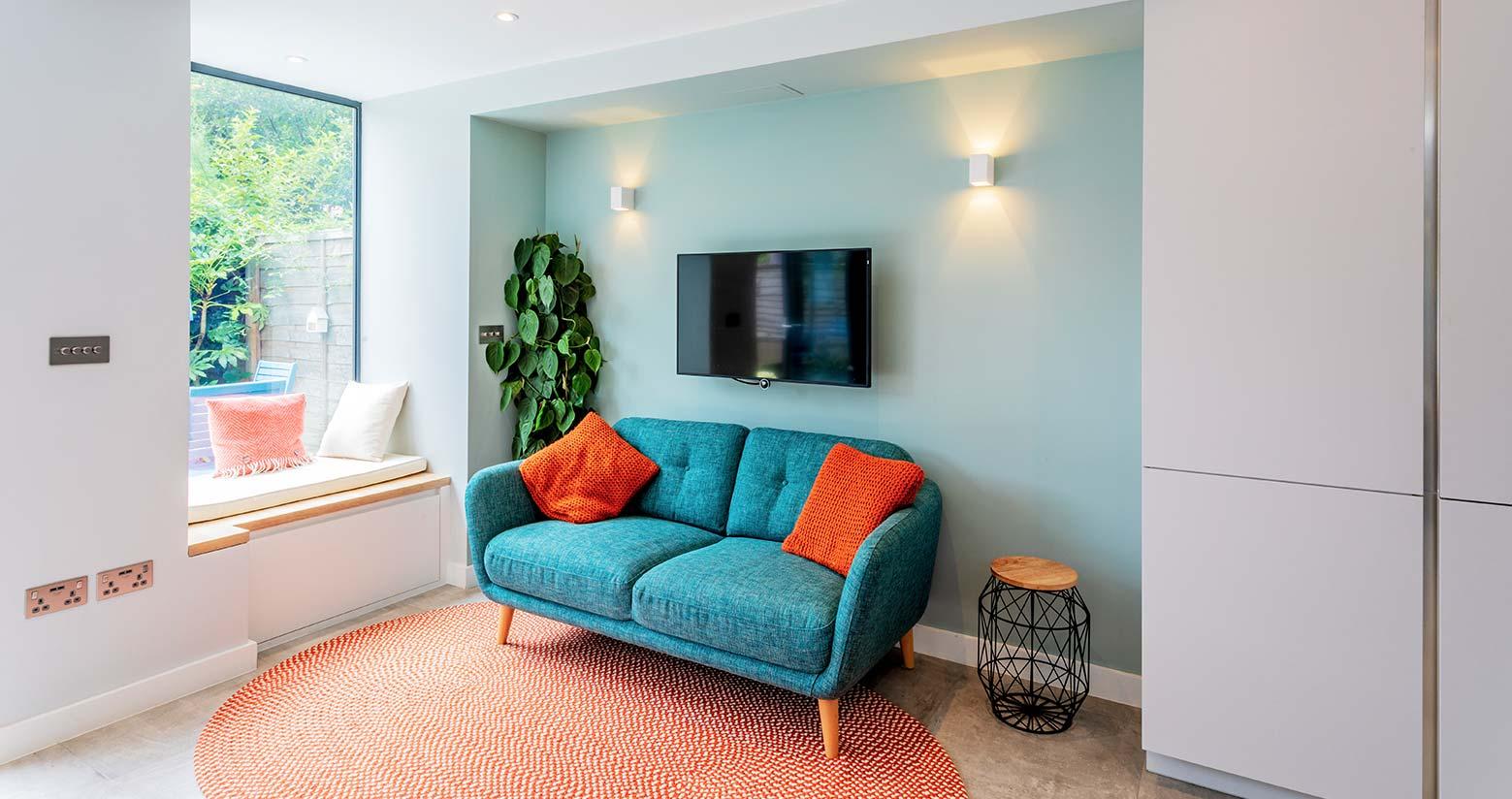 Soho Grey Property Living Room
