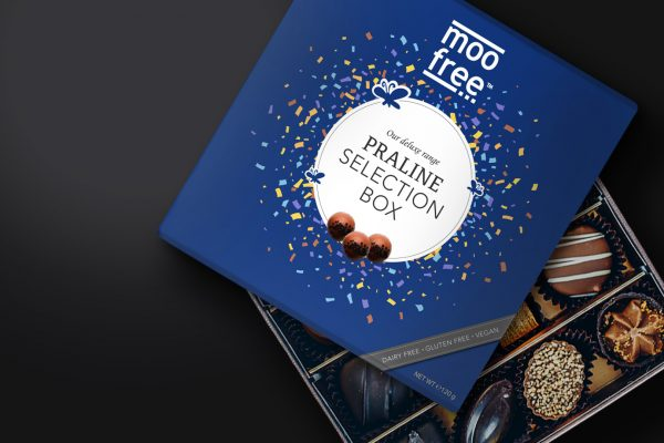 Moo Free Packaging Praline Selection Box