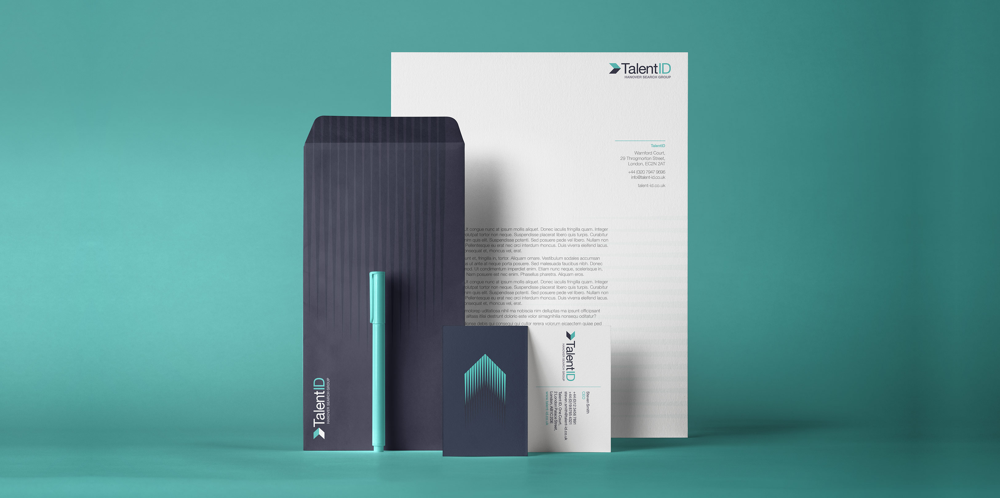 TalentID Stationery Design