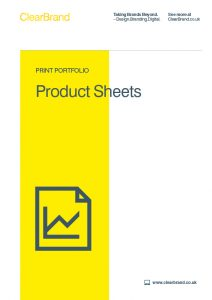 Product Sheets Case Studies