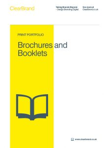 Brochures and Booklets Case Studies