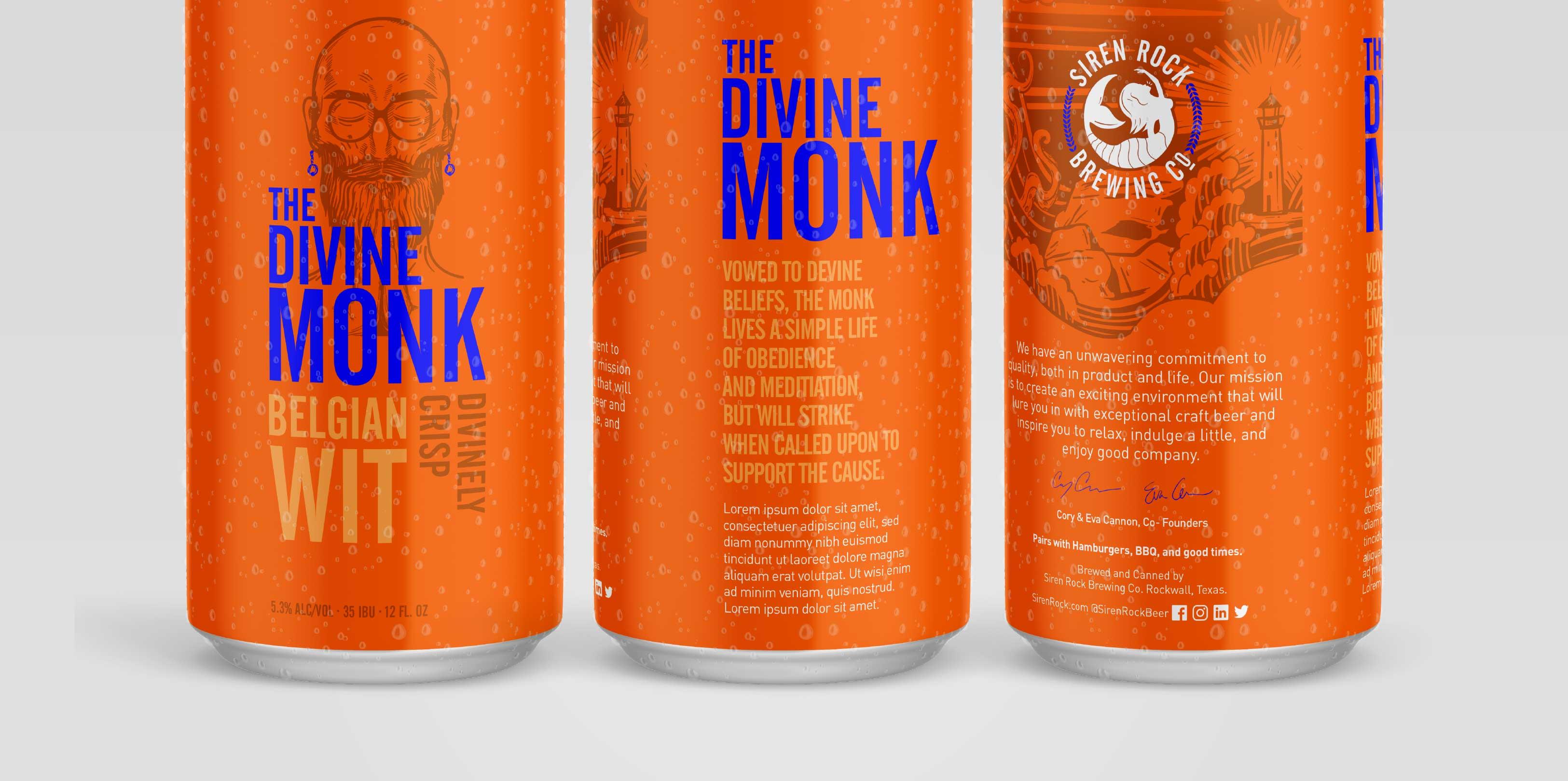Siren Rock Package Design The Divine Monk