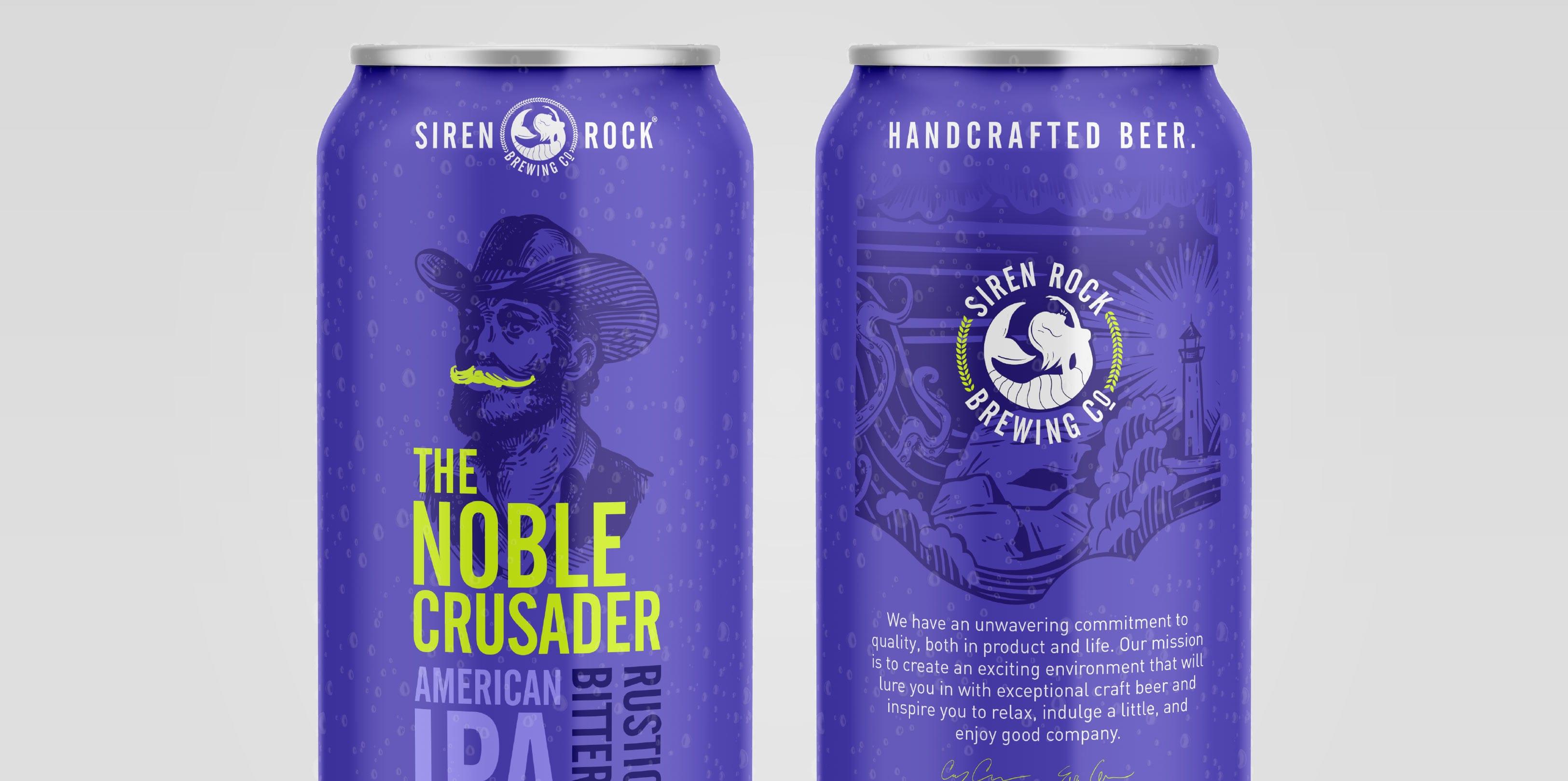 Siren Rock Package Design The Noble Crusader