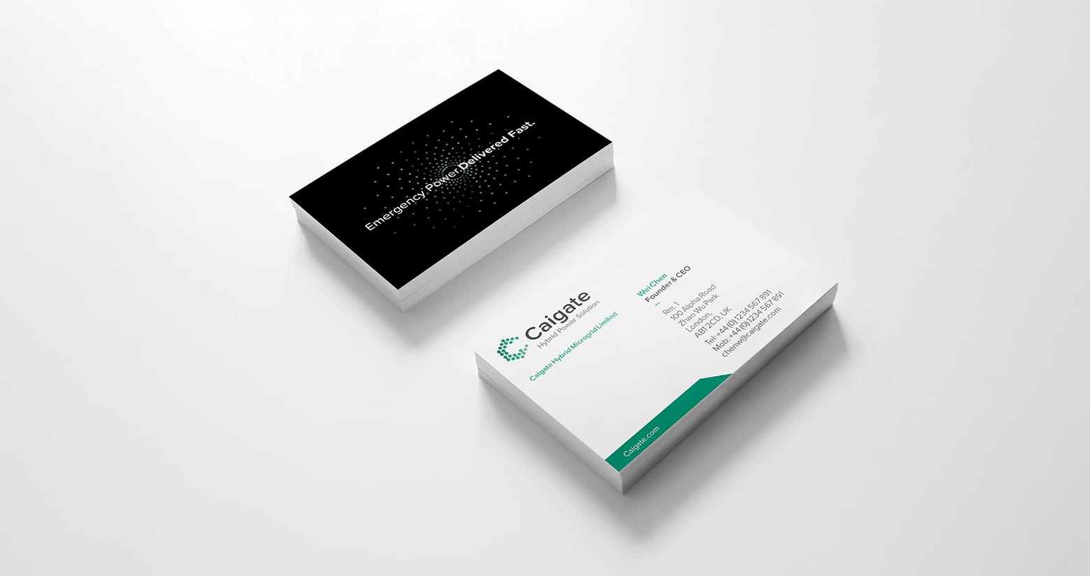 Caigate Business Cards