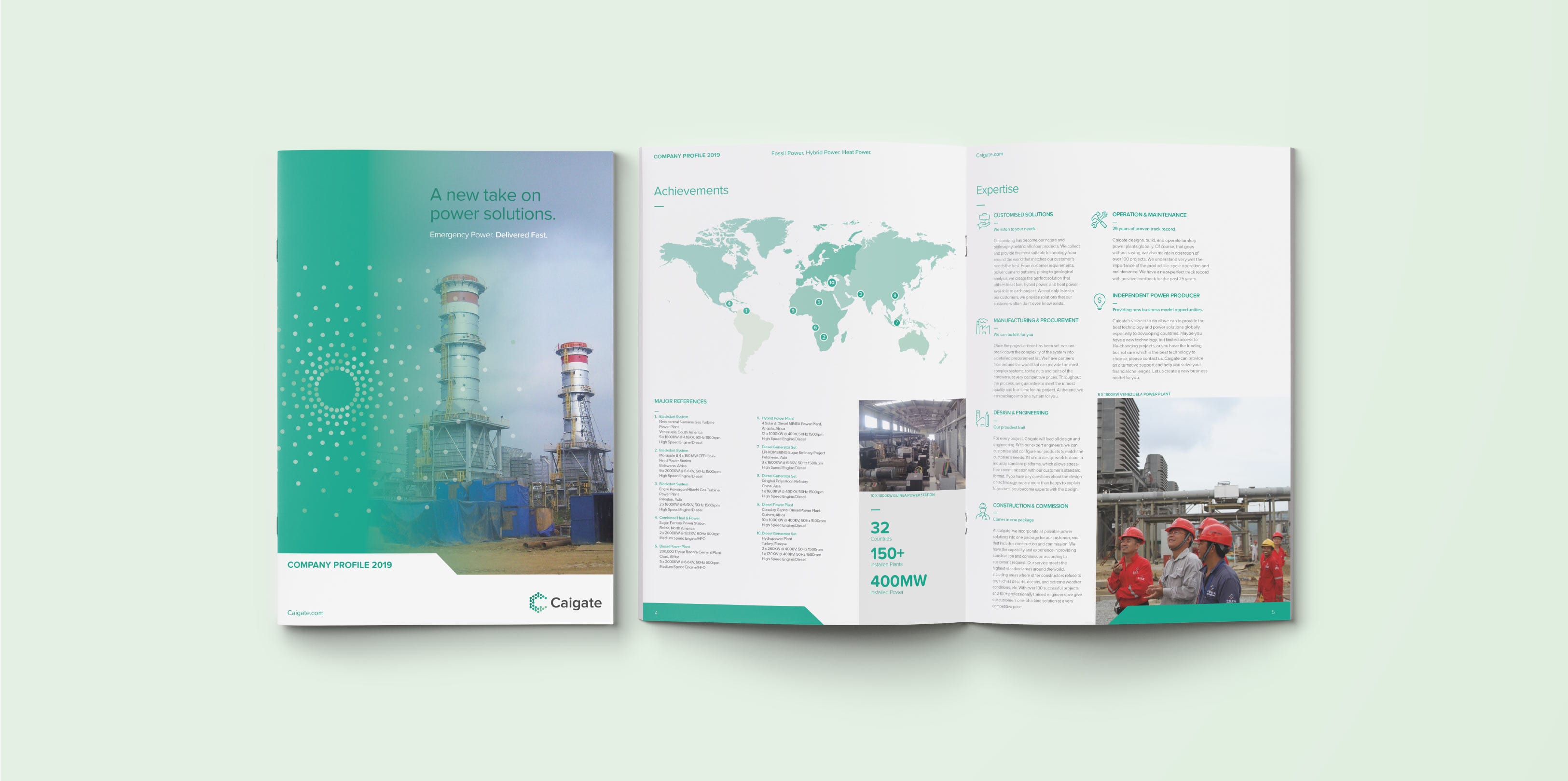 Caigate Brochure