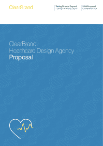 ClearBrand Healthcare Proposal
