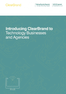 ClearBrand Technology Proposal