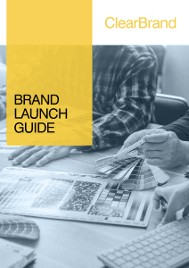 ClearBrand Brand Launch Guide