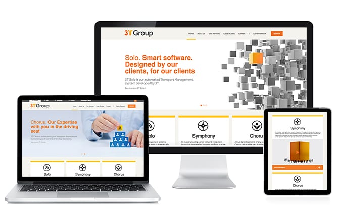 3T Group Website open devices