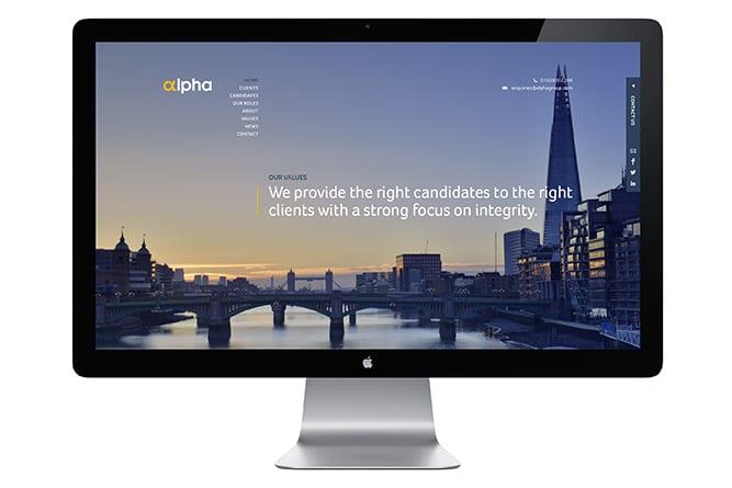 Alpha website
