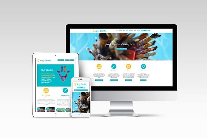 Artygiraffe Website