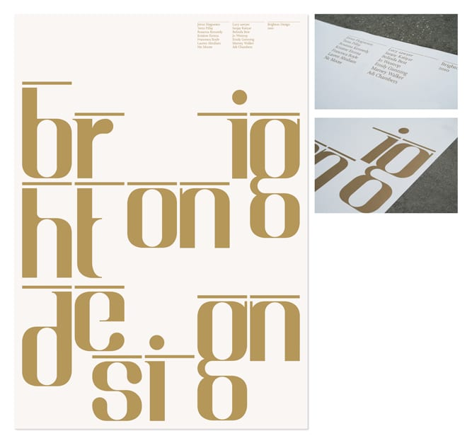Brighton Design typeface