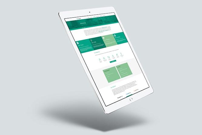 TalentID Tablet design
