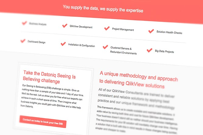 Datoniq Website