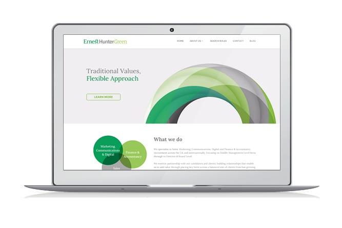 Ernest Hunter Green Website mac