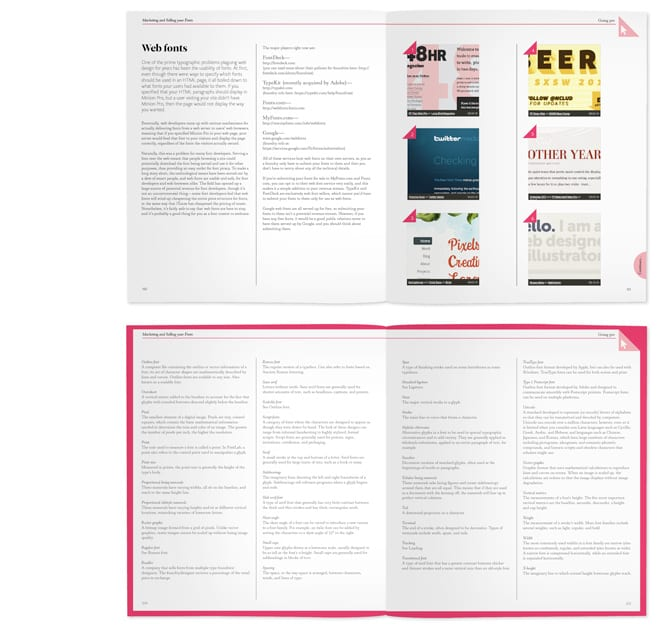 Rotovision – Fontface brochure